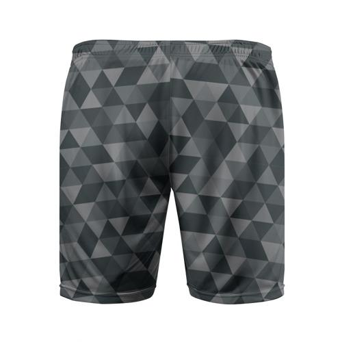 Мужские шорты 3D спортивные  Фото 02, Hipster gray