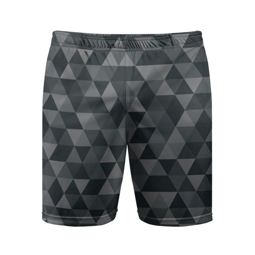 Мужские шорты 3D спортивные  Фото 01, Hipster gray