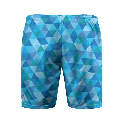 Мужские шорты 3D спортивные  Фото 02, Hipster blue