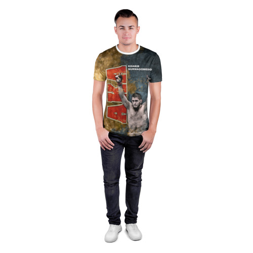 Мужская футболка 3D спортивная  Фото 04, Хабиб Нурмагомедов (the Eagle)