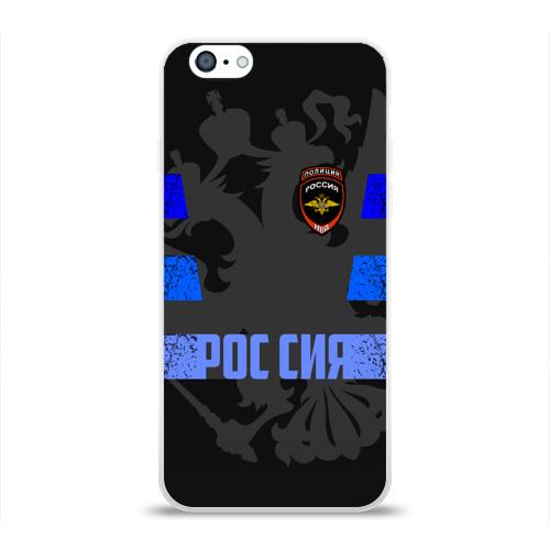 Чехол для Apple iPhone 6 силиконовый глянцевый  Фото 01, Полиция