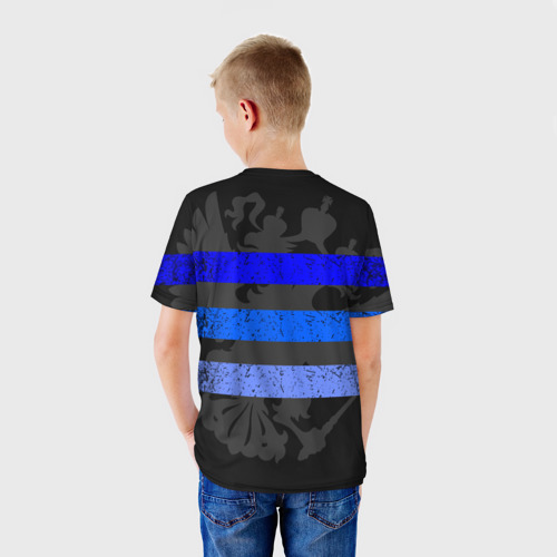 Детская футболка 3D  Фото 02, Полиция