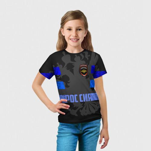 Детская футболка 3D  Фото 03, Полиция