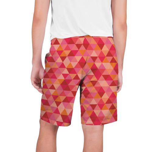 Мужские шорты 3D  Фото 02, Hipster red