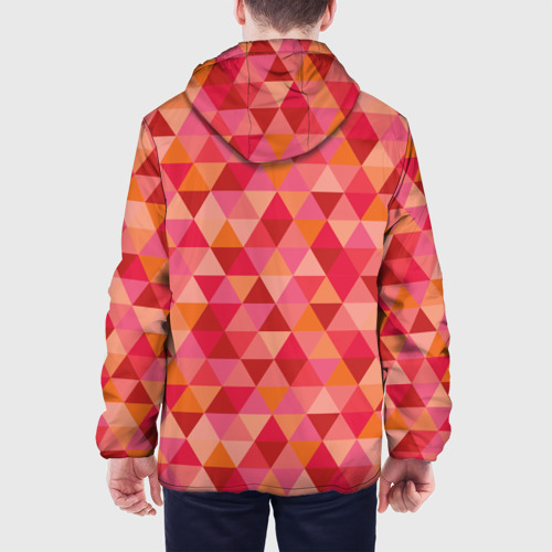Мужская куртка 3D  Фото 05, Hipster red