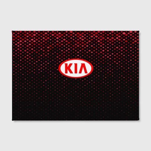 Холст прямоугольный  Фото 02, KIA sport collection