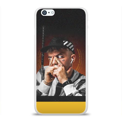 Чехол для Apple iPhone 6Plus/6SPlus силиконовый глянцевый  Фото 01, Элджей