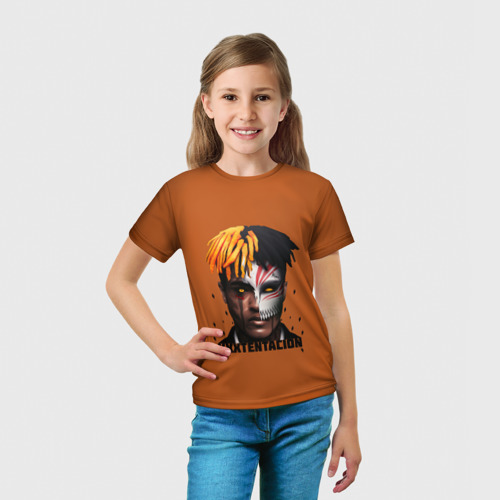 Детская футболка 3D  Фото 03, XXXtentacion (3)