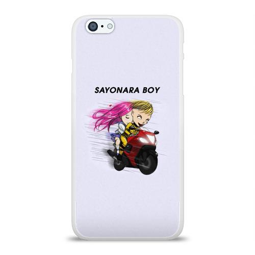 Чехол для Apple iPhone 6Plus/6SPlus силиконовый глянцевый  Фото 01, Sayonara boy