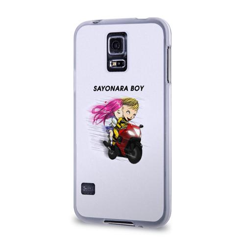 Чехол для Samsung Galaxy S5 силиконовый  Фото 03, Sayonara boy