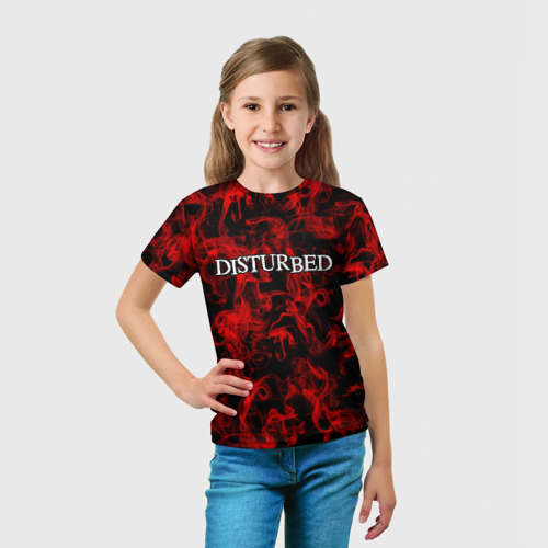 Детская футболка 3D  Фото 03, Disturbed