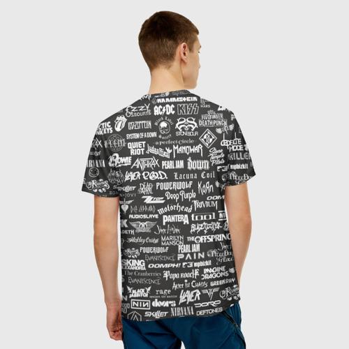 Мужская футболка 3D Rock Star Фото 01