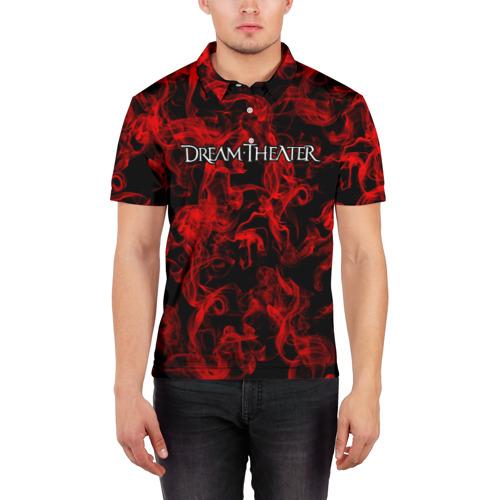 Мужская рубашка поло 3D  Фото 03, Dream Theater