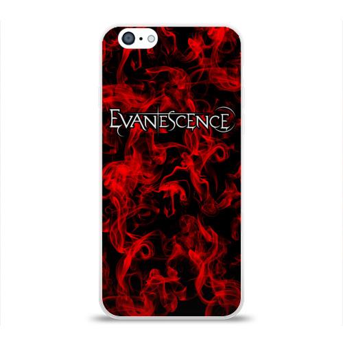Чехол для Apple iPhone 6 силиконовый глянцевый  Фото 01, Evanescence