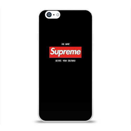 Чехол для Apple iPhone 6 силиконовый глянцевый  Фото 01, Элджей