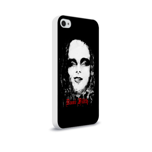 Чехол для Apple iPhone 4/4S soft-touch  Фото 02, Dani Filth