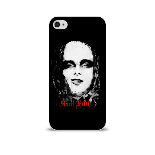 Чехол для Apple iPhone 4/4S soft-touch  Фото 01, Dani Filth