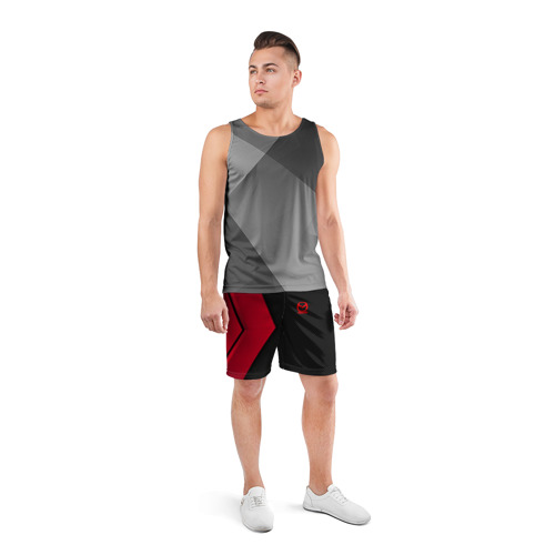 Мужские шорты 3D спортивные  Фото 04, MAZDA SPORT