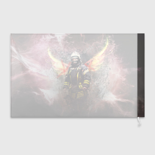 Флаг 3D  Фото 02, Пожарный