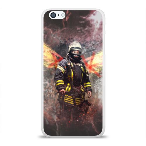 Чехол для Apple iPhone 6Plus/6SPlus силиконовый глянцевый  Фото 01, Пожарный
