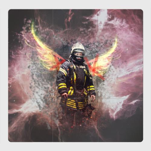Магнитный плакат 3Х3 Пожарный