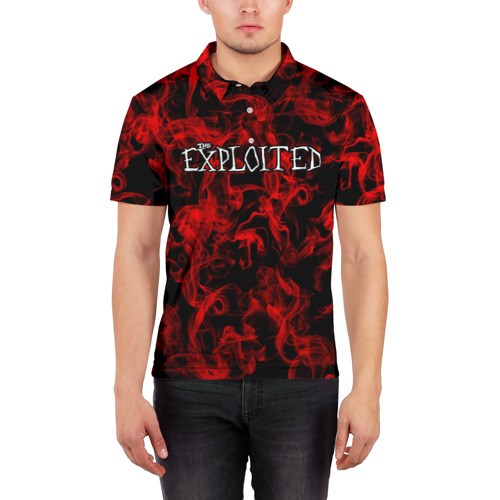 Мужская рубашка поло 3D  Фото 03, The Exploited