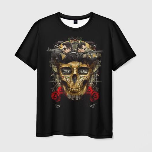 Мужская футболка 3D Sicario: Day of the Soldado