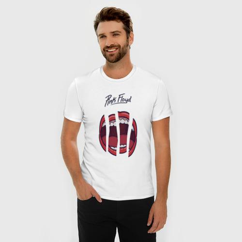 Мужская футболка хлопок Slim Pink Floyd Фото 01