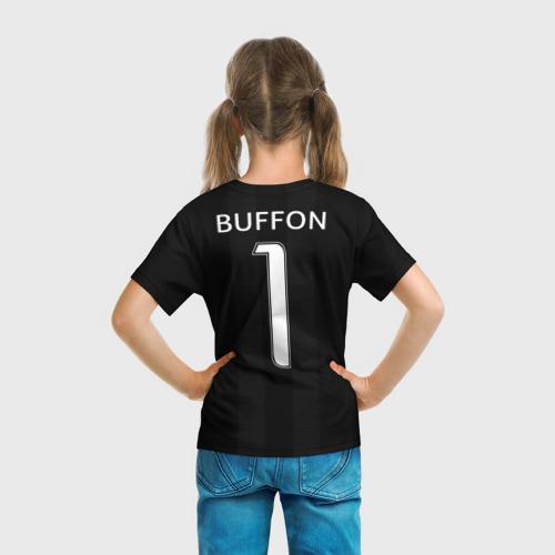 Детская футболка 3D  Фото 04, Буффон ЛЧ 2018