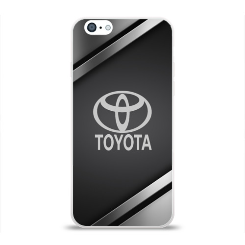 Чехол для Apple iPhone 6 силиконовый глянцевый  Фото 01, TOYOTA SPORT
