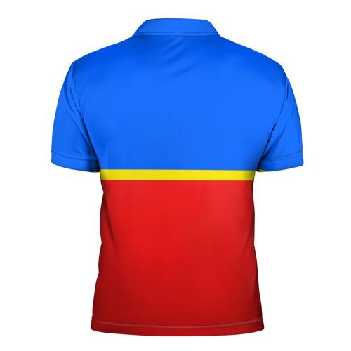 Мужская рубашка поло 3D  Фото 02, Грозный
