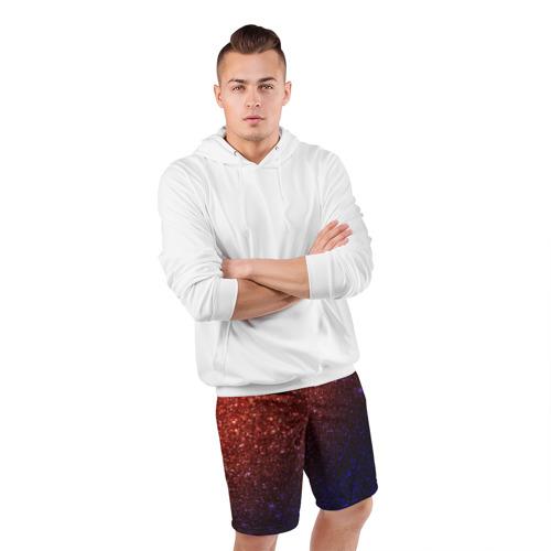 Мужские шорты 3D спортивные  Фото 05, Из лавы в космос