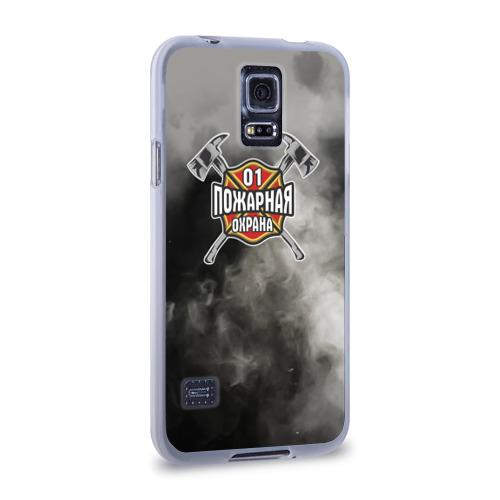 Чехол для Samsung Galaxy S5 силиконовый  Фото 02, пожарная охрана