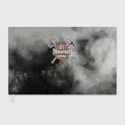 Флаг 3D  Фото 03, пожарная охрана