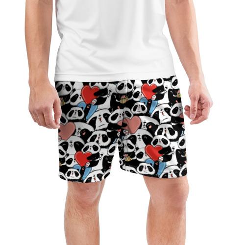 Мужские шорты 3D спортивные  Фото 03, Funny Panda