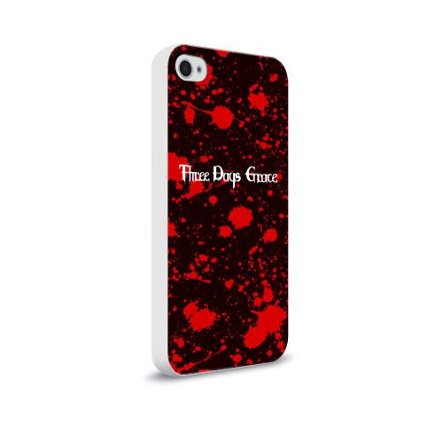 Чехол для Apple iPhone 4/4S soft-touch  Фото 02, Three Days Grace