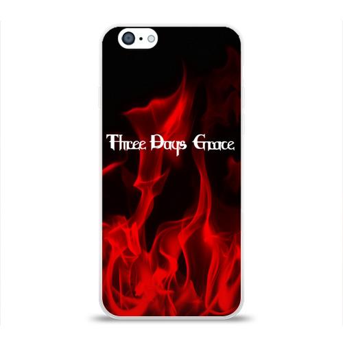Чехол для Apple iPhone 6 силиконовый глянцевый  Фото 01, Three Days Grace