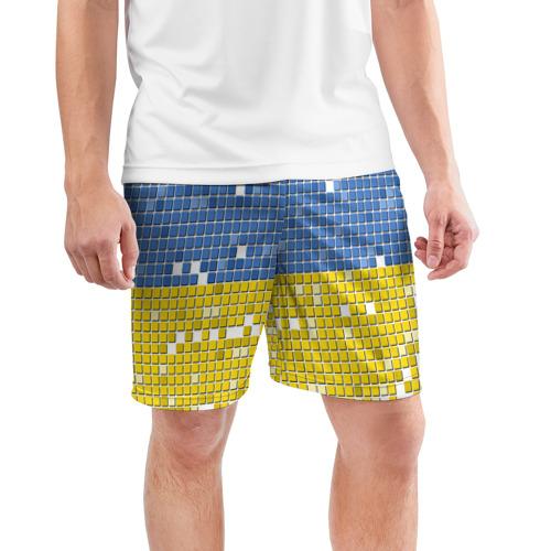 Мужские шорты 3D спортивные  Фото 03, Украина