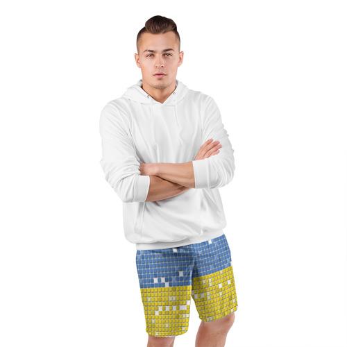 Мужские шорты 3D спортивные  Фото 05, Украина