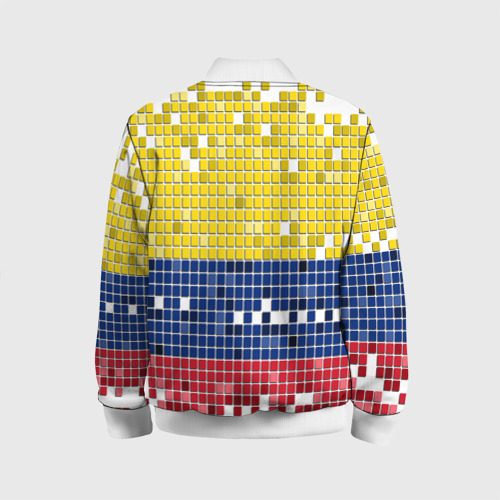 Детский бомбер 3D  Фото 02, Флаг Колумбии