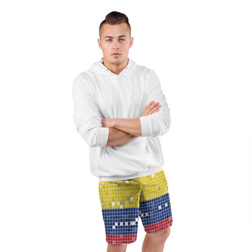 Мужские шорты 3D спортивные  Фото 05, Флаг Колумбии