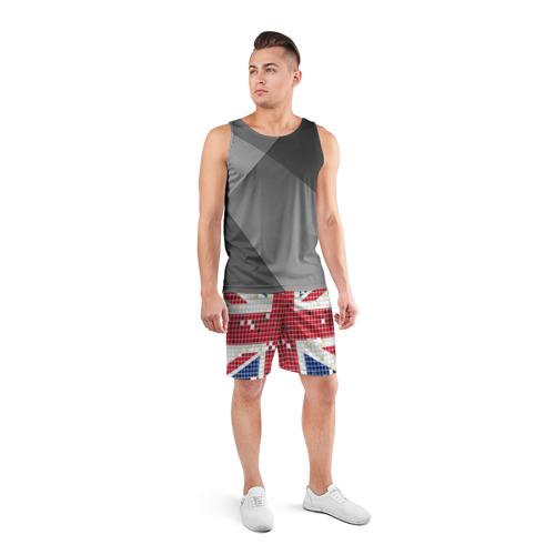 Мужские шорты 3D спортивные  Фото 04, Англия