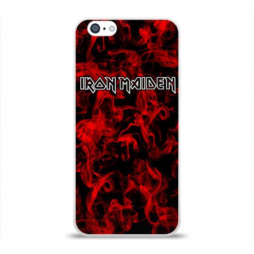 Чехол для Apple iPhone 6 силиконовый глянцевый  Фото 01, Iron Maiden