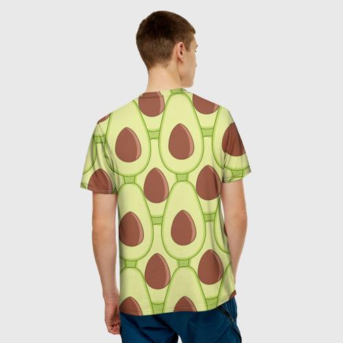 Мужская футболка 3D  Фото 02, Авокадо