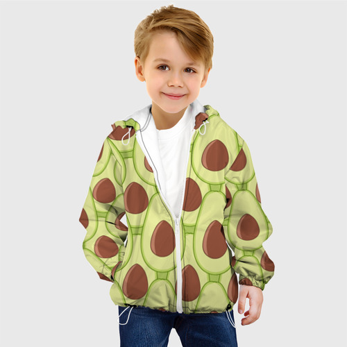 Детская куртка 3D  Фото 03, Авокадо