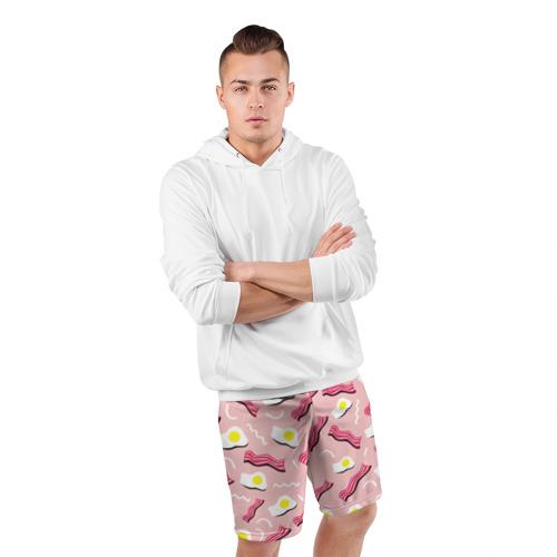 Мужские шорты 3D спортивные  Фото 05, Breakfast