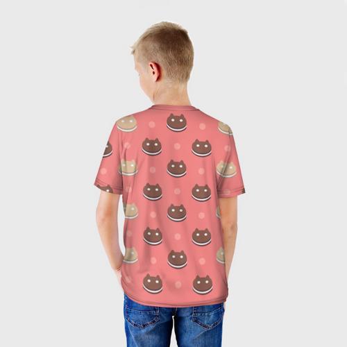 Детская футболка 3D  Фото 02, Cookie Cat