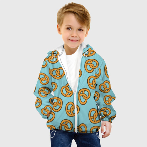 Детская куртка 3D  Фото 03, Сердца Крендельки
