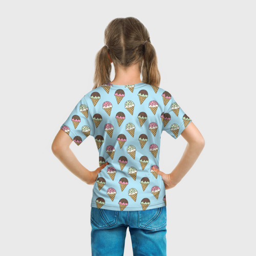 Детская футболка 3D  Фото 04, Sweet