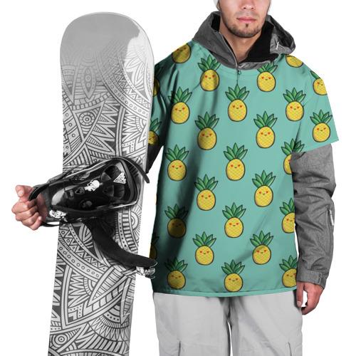 Накидка на куртку 3D  Фото 01, Ананас
